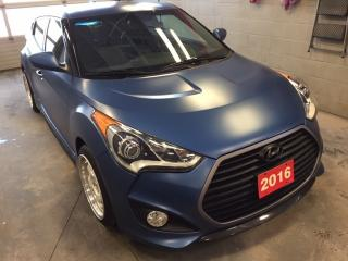 Used 2016 Hyundai Veloster Rally Edition | Nav | Sunroof | +Snow Tires for sale in Stratford, ON