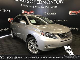 Used 2010 Lexus RX 450h TOURING PACKAGE for sale in Edmonton, AB