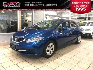Used 2013 Honda Civic LX 73.000KM/HEATED SEATS/BLUETOOTH for sale in North York, ON