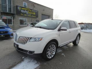 Used 2013 Lincoln MKX AWD,NAVI,LEATHER,PAN SUNROOF,BACKUP CAMERA for sale in Newmarket, ON