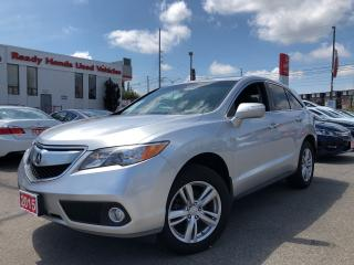 Used 2015 Acura RDX Premium AWD | Leather | Sunroof | Rear Camera for sale in Mississauga, ON