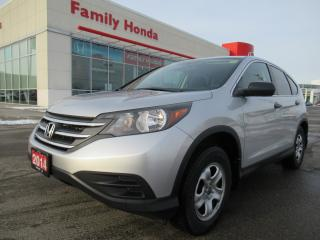 Used 2014 Honda CR-V LX, FREE WINTER TIRES & RIMS! for sale in Brampton, ON