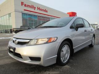 Used 2010 Honda Civic DX-G, FULLY SAFETY CERTIFIED! for sale in Brampton, ON