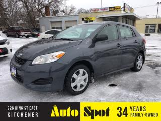 Used 2009 Toyota Matrix LOW, LOW KMS/1 OWNER/PRICED-QUICK SALE! for sale in Kitchener, ON