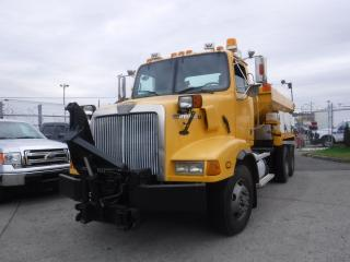 Used 2001 Western Star Trucks 5800 Dump Truck With Front Plow Blade And Salter Diesel With Air Brakes for sale in Burnaby, BC