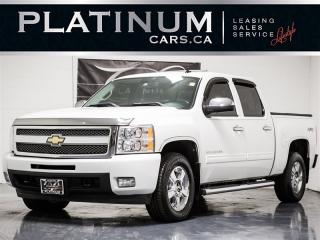 Used 2010 Chevrolet Silverado 1500 LTZ, V8, CREWCAB, Heated LEATHER, 4X4 for sale in Toronto, ON