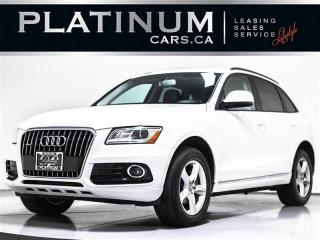 Used 2016 Audi Q5 2.0T QUATTRO, Heated LEATHER, PWR Tailgate for sale in Toronto, ON