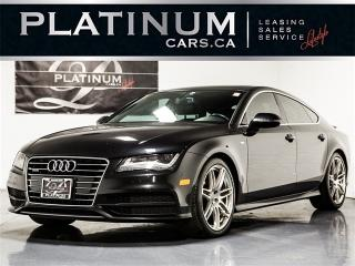 Used 2012 Audi A7 3.0T quattro Premium Plus, NAVI, CAM, S-LINE for sale in Toronto, ON