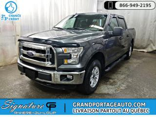 Used 2016 Ford F-150 Cab SuperCrew 4RM 145 po XLT for sale in Rivière-Du-Loup, QC