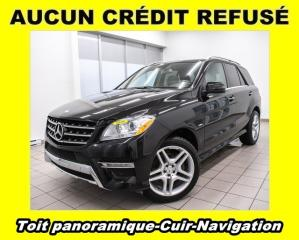 Used 2012 Mercedes-Benz ML-Class 4x4 Bluetec Toit for sale in St-Jérôme, QC