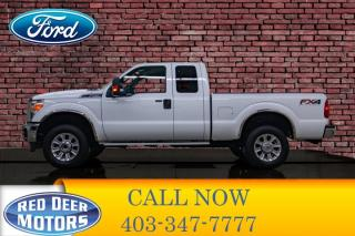 Used 2014 Ford F-250 4x4 Super Cab XLT FX4 BCam for sale in Red Deer, AB