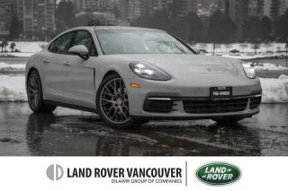 Used 2018 Porsche Panamera 4 *Local All Wheel Drive With Premium Pkg! for sale in Vancouver, BC