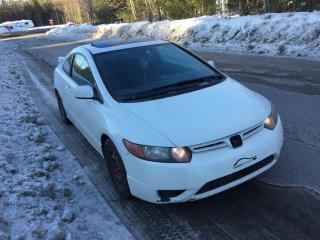 Used 2007 Honda Civic 2 portes, boîte manuelle EX for sale in Valcourt, QC