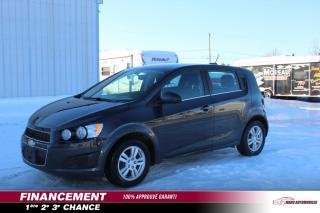 Used 2015 Chevrolet Sonic 5 portes à hayon LT à b. man. for sale in St-Lin-Laurentides, QC