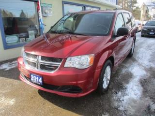 Used 2014 Dodge Grand Caravan FAMILY MOVING SXT MODEL 7 PASSENGER 3.6L - V6.. CAPTAINS.. STOW-N-GO.. BACK-UP CAMERA.. DVD PLAYER.. BLUETOOTH.. ECON-BOOST PACKAGE.. for sale in Bradford, ON