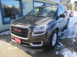 Used 2015 GMC Acadia ALL-WHEEL DRIVE SLE-1 MODEL 8 PASSENGER 3.6L - V6.. BENCH & 3RD ROW.. BACK-UP CAMERA.. CD/AUX/USB INPUT.. KEYLESS ENTRY.. for sale in Bradford, ON