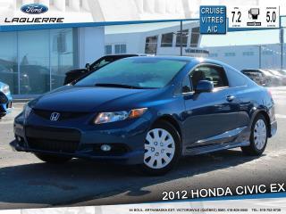 Used 2012 Honda Civic Ex Bluetooht Toit for sale in Victoriaville, QC