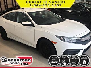 Used 2016 Honda Civic LX ***PNEUS HIVER***CAMÉRA DE RCUL***SIE for sale in Donnacona, QC