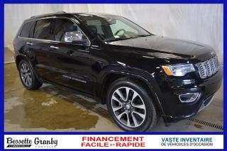 Used 2017 Jeep Grand Cherokee Overland for sale in Granby, QC