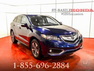 Used 2017 Acura RDX ÉLITE + NAV + MAGS 18'' + WOW !!! for sale in St-Basile-le-Grand, QC
