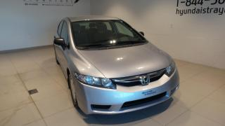 Used 2010 Honda Civic automatique, DX-G BAS KILOMETRAGE for sale in St-Raymond, QC