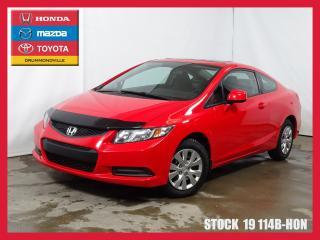 Used 2013 Honda Civic Ex+toit+regvit+siègc for sale in Drummondville, QC