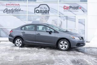 Used 2013 Honda Civic LX ***GARANTIE 10 ANS/200 000 KM*** for sale in Québec, QC