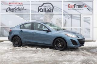 Used 2011 Mazda MAZDA3 GX  ***JAMAIS ACCIDENTE*** for sale in Québec, QC