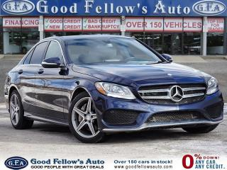 Used 2015 Mercedes-Benz C 300 4MATIC, NAVIGATION, REARVIEW CAMERA, POWER SEAT for sale in Toronto, ON