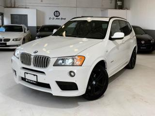Used 2014 BMW X3 M PKG|FULLY LOADED|ACCIDENT FREE|NAV|BACKUP CAM| for sale in Oakville, ON