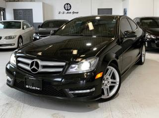 Used 2012 Mercedes-Benz C-Class C350 COUPE|AMG PKG|NAV|BACKUP|PANO|RED SEATS| for sale in Oakville, ON