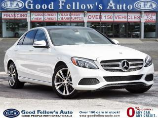 Used 2016 Mercedes-Benz C 300 4MATIC, REARVIEW CAMERA, LEATHER SEATS, NAVIGATION for sale in Toronto, ON