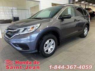 Used 2016 Honda CR-V LX Camera A/C Sieges Chauffants for sale in St-Jean-Sur-Richelieu, QC