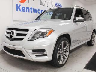 Used 2014 Mercedes-Benz GLK-Class GLK 350 AWD 4MATIC, NAV, sunroof, heated power leather seats for sale in Edmonton, AB