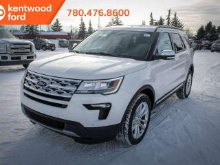 New 2019 Ford Explorer XLT 202A, 4WD, 3.5L, Power Heated Front Seats, Keyless Entry, Remote Vehicle Start, Reverse Camera for sale in Edmonton, AB
