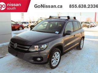 Used 2017 Volkswagen Tiguan WOLFSBURG, 4MOTION, SUNROOF, HEATED SEATS for sale in Edmonton, AB