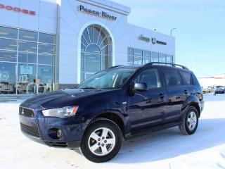 Used 2012 Mitsubishi Outlander ES for sale in Peace River, AB