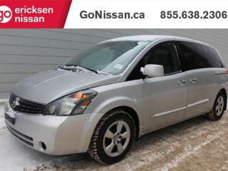 Used 2008 Nissan Quest MINIVAN: 7 PASSENGER POWER LOCKS, POWER WINDOWS, AUTOMATIC for sale in Edmonton, AB