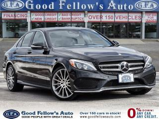 Used 2015 Mercedes-Benz C-Class C400, NAVI, REARVIEW CAMERA, PANROOF, MEMORY SEAT for sale in Toronto, ON