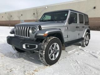 New 2018 Jeep Wrangler Unlimited Sahara 4x4 / GPS Navigation / Back Up Camera for sale in Edmonton, AB