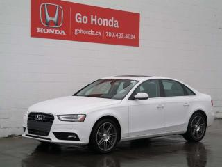 Used 2014 Audi A4 Komfort for sale in Edmonton, AB