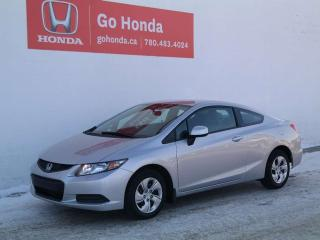 Used 2013 Honda Civic Cpe LX, COUPE, MANUAL for sale in Edmonton, AB