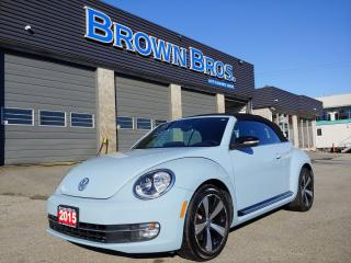 Used 2015 Volkswagen Beetle Sportline, LOCAL, NO ACCIDENTS, LEATHER for sale in Surrey, BC