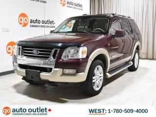 Used 2007 Ford Explorer Eddie Bauer 4WD; Leather Heated Seats, Sunroof, 7 Passenger for sale in Edmonton, AB