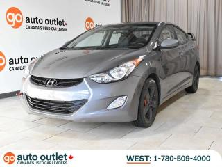 Used 2013 Hyundai Elantra GLS Auto, Sunroof, Bluetooth for sale in Edmonton, AB