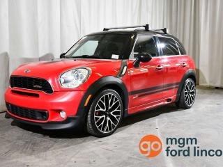 Used 2014 MINI Cooper Countryman JOHN COOPER WORKS | LEATHER | MOONROOF | HEATED FRONT SEATS for sale in Red Deer, AB
