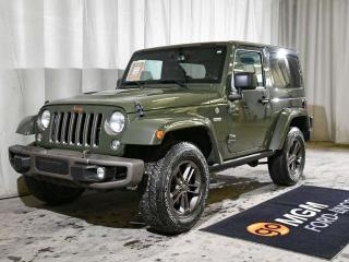 Used 2016 Jeep Wrangler SAHARA 75th ANNIVERSARY for sale in Red Deer, AB