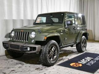 Used 2016 Jeep Wrangler SAHARA 75th ANNIVERSARY | NAVIGATION for sale in Red Deer, AB