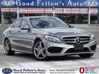 Used 2015 Mercedes-Benz C-Class C400, LIMITED PACKAGE, REARVIEW CAMERA, PAN ROOF for sale in Toronto, ON