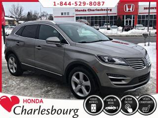 Used 2016 Lincoln MKC Premier AWD **UN PROPRIÉTAIRE** for sale in Charlesbourg, QC